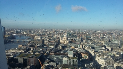 Sky Garden view of London